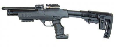 Пістолет пневматичний Kral NP-01 PCP чорний