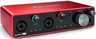 Аудіоінтерфейс Focusrite Scarlett 4i4 3rd Gen (228806)