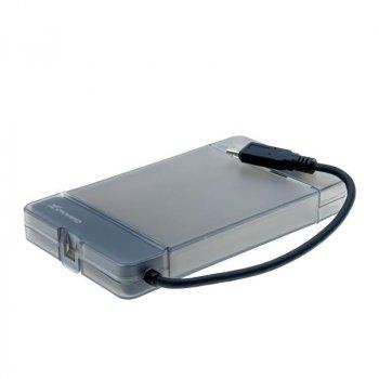 """Зовнішній кишеню Grand-X для HDD 2,5"""" USB 3.1 Type-C (HDE31)"""