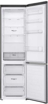 Холодильник LG GA-B509SLSM 203 см, 384 л, А++, Total No Frost, інверторний компресор, зовн. дисплеї н., графіт