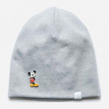 Демисезонная шапка Модный карапуз 03-01097-1 52-54 см Светло-серая (4824868110970)