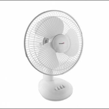 Настольный Вентилятор Domotec MS-1626, 3 режима, 40Вт, Белый