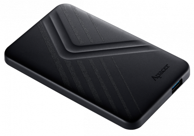 "Жорсткий диск Apacer AC236 1TB 5400rpm 8MB AP1TBAC236B-1 2.5"" USB 3.1 External Black"