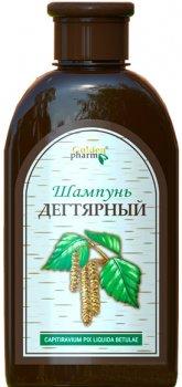 Упаковка шампуню Golden Pharm Дігтярний для зміцнення волосся 250 мл х 2 шт. (53299783882961)
