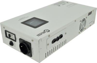 Стабілізатор напруги релейний настінного монтажу EuroPower SLIM-2000SBR LED, 2000VA 1400 W, 140-270Vac, SHUKO 2, Q1 (10570)