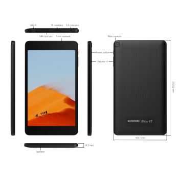 "Планшет Alldocube iPlay 8T 8.0"" 3/32Gb 5500 мАч Black"