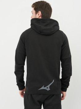 Толстовка Mizuno Athletic Zip Hoody K2GC050109 Чорна