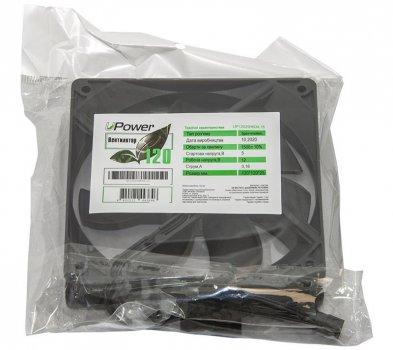 Вентилятор UPower UP12025HB34.15 120 мм, 3pin+Molex