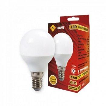 Світлодіодна лампа G45B 6W 4000K E14 IC