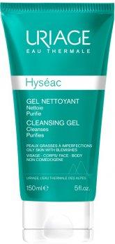 Гель для обличчя Uriage Hyseac Cleansing Gel Nettoyant Очисний 150 мл (3661434000973)