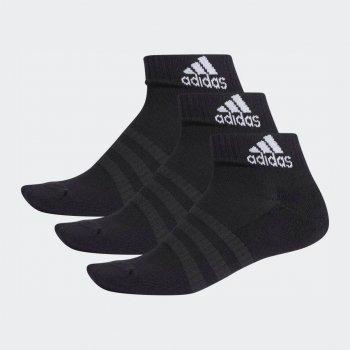 Шкарпетки Adidas Cush Ank 3Pp DZ9379 Black/Black/Black (M)