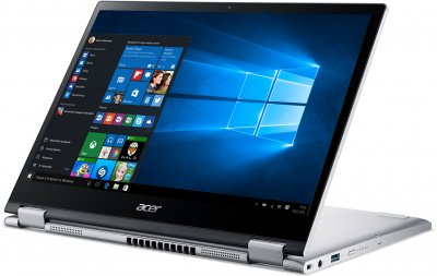 Ноутбук Acer Spin 3 SP313-51N-35RR (NX.A6CEU.007) Pure Silver