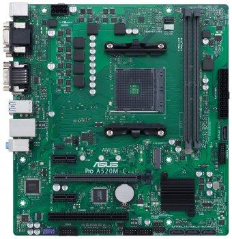 Материнская плата Asus Pro A520M-C/CSM Socket AM4
