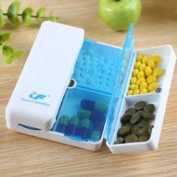 Органайзер для таблеток Lifelounge 10х7 см Белый (10760)