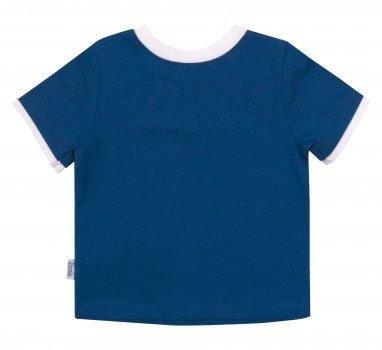 Футболка Бемби FB731 810 Синяя с белым