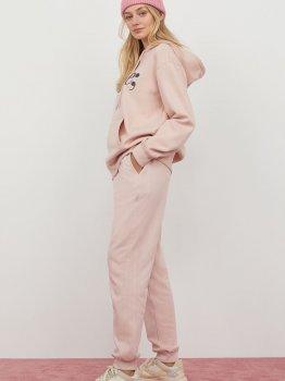 Спортивные брюки H&M 0919499001 Светло-розовые