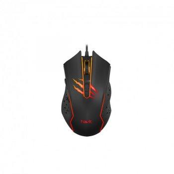 Ігрова провідна миша HAVIT HV-MS1027 Black