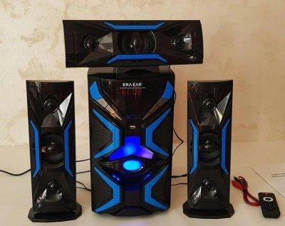 Акустическая система Домашний кинотеатр 3.1 Era Ear E-1503L 60W Bluetooth Активный сабвуфер и 3 колонки
