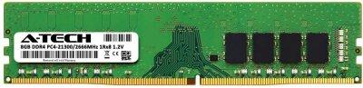 Оперативная память A-Tech 8GB DDR4-2666 (PC4-21300) DIMM 1Rx8 (AT8G1D4D2666NS8N12V)
