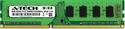 Оперативная память A-Tech 4GB DDR3-1333 (PC3-10600) DIMM 1Rx8 (AT4G1D3D1333NS8N15V)