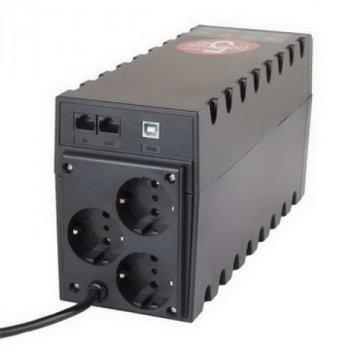 ДБЖ Powercom RPT-800AP, 3 x євро, USB (00210190)
