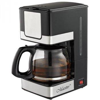 Кофеварка капельная для кофе, латте, эспрессо GoVern MR405 (Maestro) фильтрационная Черный