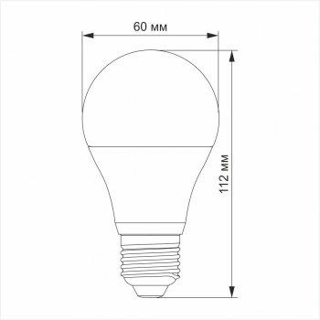 LED смарт лампа VIDEX A60 RGB CW WI-FI 12W E27, VL-A60RGBCW-1227-WIFI, 25097