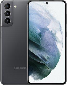 Мобильный телефон Samsung Galaxy S21 8/256GB Phantom Grey (SM-G991BZAGSEK) (358446920806059) - Уценка