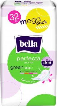 Гигиенические прокладки Bella Perfecta Ultra Green 32 шт (5900516306014)