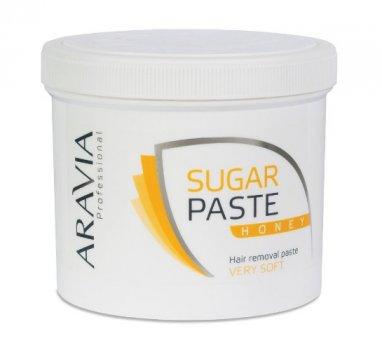"""Сахарная паста для шугаринга """"Медовая"""" очень мягкой консистенции для бандажной техники ARAVIA Aravia, 750 гр"""