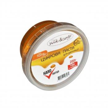 "Цукрова паста для шугарінга для домашнього застосування ""Тверда"" Silk&Soft HOME, 250 гр"