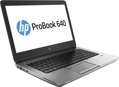Б/у Ноутбук HP ProBook 640 G1 / Intel Core i3 (4 покоління) / 4 Гб / 320 Гб / Клас B (не працює батарея)