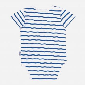 Боди-футболка Бемби BD154 (181) Белый/Синий