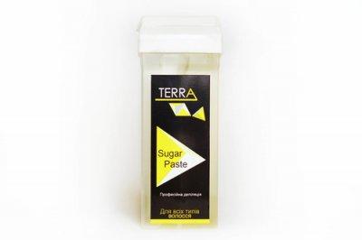 "Цукрова паста для шугарінга у касеті ""Ультра м'яка"" Terra, 150 гр"