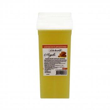 """Ароматизированная сахарная паста для шугаринга в кассете """"Медовая"""" Silk&Soft, 150 гр"""