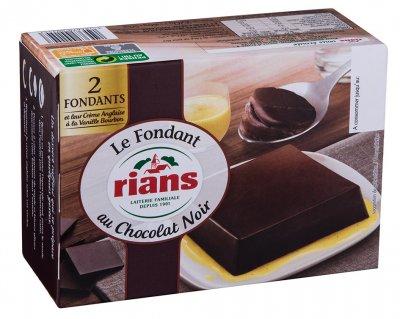 Фондант Rians с черным шоколадом 2х110г