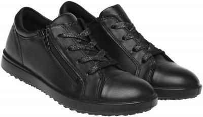 Кеды кожаные ECCO Elli 722982(11001) Черные