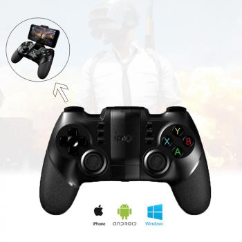 Геймпад Ipega PG-9076 Беспроводный игровой для Android/PC/IOS/PS3/Андроид Tv Box Джойстик для телефона (смартфона)