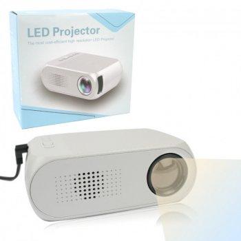 Міні проектор портативний мультимедійний GTM Led Projector YG320