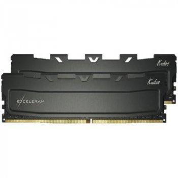 Модуль пам'яті для комп'ютера DDR4 32GB (2x16GB) 4000 MHz Black Kudos PRO eXceleram (EKPRO4324018CD)