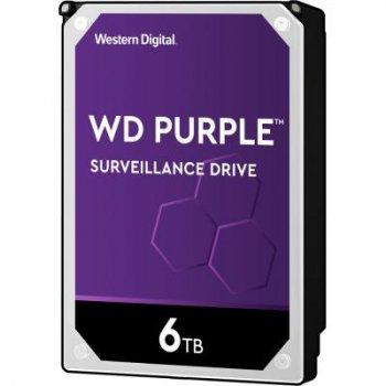 """Жорсткий диск 3.5"""" 6TB WD (WD62PURZ)"""