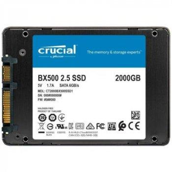 "Накопичувач SSD 2.5"" 2TB MICRON (CT2000BX500SSD1)"