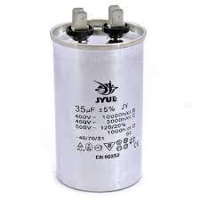 Конденсатор пусковий CBB65 плівковий 20 мкФ 450В JYUL