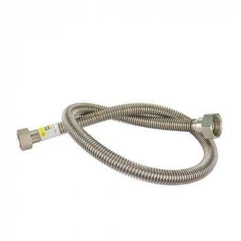 """Шланг для газу з нерж. сталі Eco-Flex Стандарт d12 1/2"""" В х 3/4"""" В 150 см"""