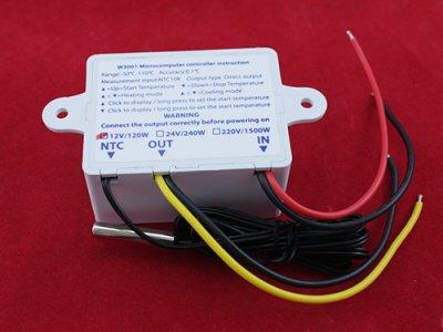 Терморегулятор Diy More термостат цифровой XH-W3001 -50~110С 12В DC 120Вт (115645)