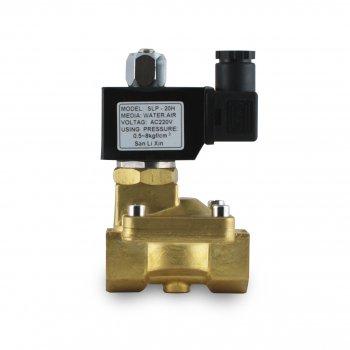 """Нормально закритий клапан Sanlixin непрямого дії 1-1/4"""" RF-SV-2W-32C (220V)"""