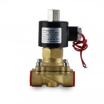 Соленоїдний клапан відкритий Sanlixin 1/2 прямої дії RF-SV-2W-15О (220V)
