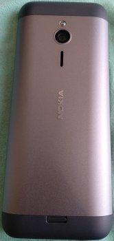 Мобільний телефон Nokia 230 Dual Sim Dark Silver/Black (355776104247784) — Уцінка