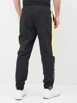 Спортивні штани Kappa 107938-BO Чорні з жовтим