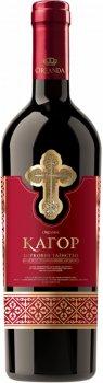 Вино Oreanda Кагор Український червоне солодке 0.75 л 16% (4820163121932G)